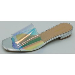 Chaussure ouverte talon plat