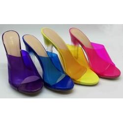 Chaussure à talon ouverte
